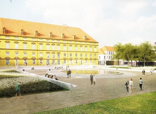 1. Preis: Schlossparterre