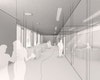 Innenraumperspektive Bürgerbüro