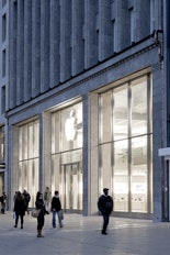Apple Flagship Store Jungfernstieg . Hamburg