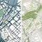 links ein 1. Preis: Trojan Trojan + Partner | Architekten + Städtebauer BDA, Darmstadt (DE), Pirker + Pfeiffer Ingenieure GmbH & Co. KG, Münsingen (DE), WGF Nürnberg, Nürnberg (DE) rechts ein 1. Preis: ap plan mory osterwalder vielmo gmbh, Stuttgart (DE), Berlin (DE), G-R-I Gesellschaft für Gesamtverkehrsplanung Regionalisierung und Infrastrukturplanung, Berlin (DE), Kienle Planungsgesellschaft Freiraum + Städtebau mbH, Stuttgart (DE)