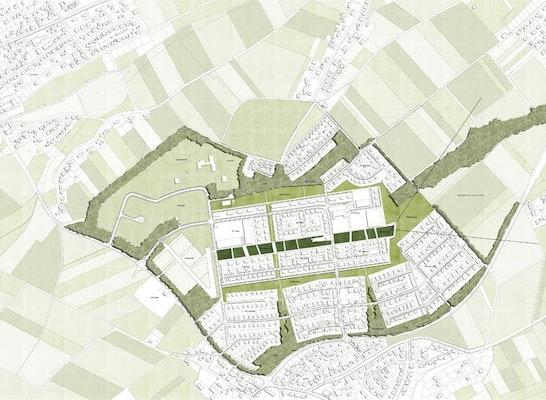Konzept landschaftliche Einbindung