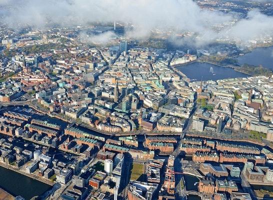 Das historische Ensemble zwischen Innenstadt und Elbe