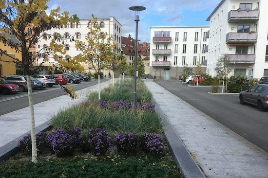 "Straßenraumgestaltung ""Am Rähmen"" Jena"