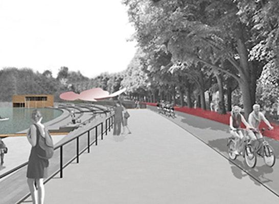 Visualisierung Promenade