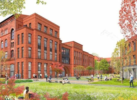 ein 2. Preis: BERND ALBERS Humboldt Campus - Park an der Südpanke