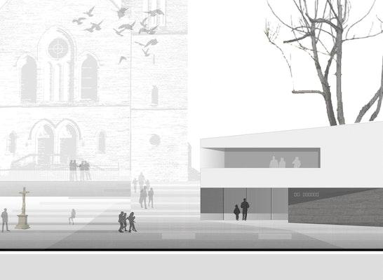 1. Preis: Ansicht Süd, © herzog + herzog architekten