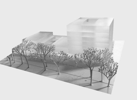1. Preis: Modell, © Lamott.Lamott Architekten