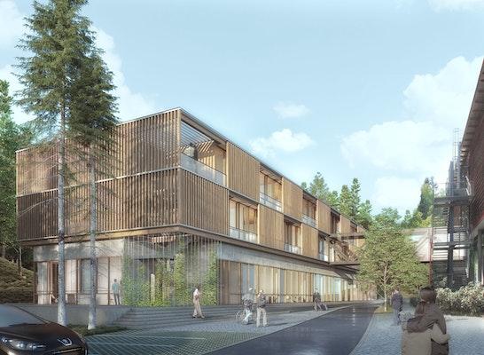 1. Preis: Gesamtansicht, © baum-kappler architekten gmbh