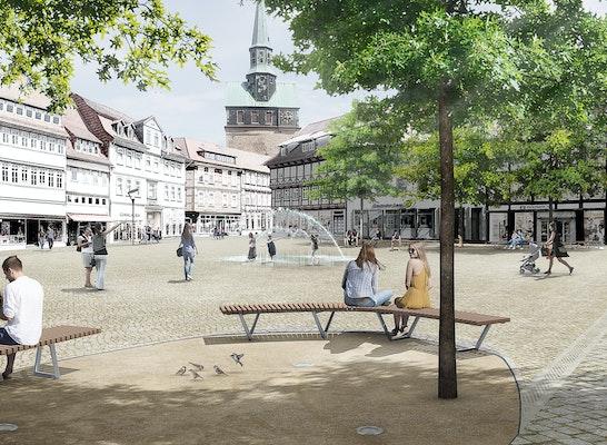 1. Preis: © TGP Landschaftsarchitekten Trüper, Gondesen und Partner mbB