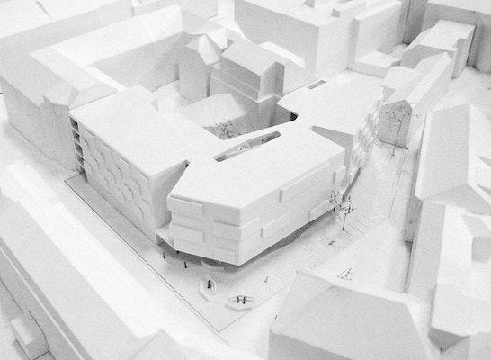 1. Preis: Modellfoto, © SOLID architecture ZT GmbH