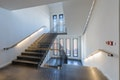 Ein moderner Eingriff im Treppenhaus