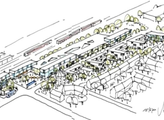 neue städtebauliche Situation des Oertelplatzes