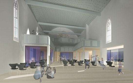 Perspektive Kirchenraum