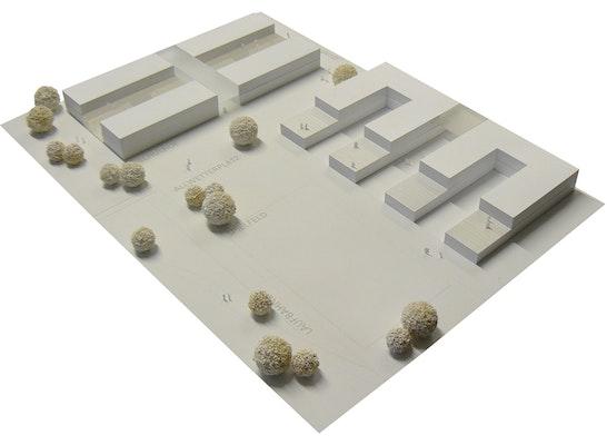 1. Preis Zuschlag: wettbewerbsmodell, © architektei mey