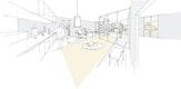 Stadtwohnung mit Bezug zum Binnenraum