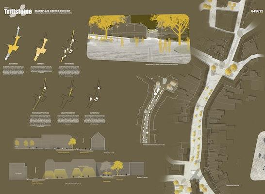 1. Preis Zuschlag: Plan links, © Adler & Olesch Landschaftsarchitekten GmbH Nürnberg