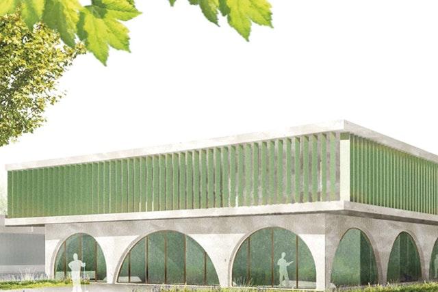 Betriebsgebäude und Sicherheitszentrale für die Berliner Wasserbetriebe