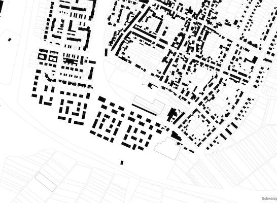 Gewinner 2. Phase: Schwarzplan_1. Phase, © K9 Architekten