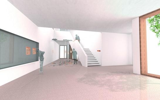 Perspektive Erdgeschoss Neubau