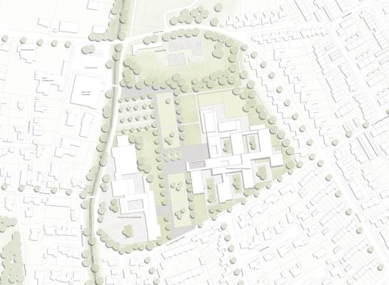 Städtebauliches Konzept M 1:1000
