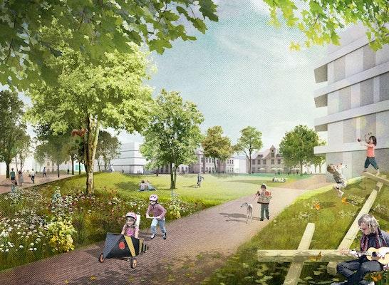 1. Preis: © Atelier LOIDL Landschaftsarchitekten Berlin GmbH