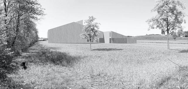 Neubau einer Reitanlage in Wangen im Allgäu