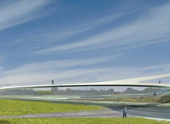 ein 2. Preis Zuschlag: © Schüßler-Plan Ingenieurgesellschaft mbH / DKFS Architects / SMEETS LANDSCHAFTSARCHITEKTEN