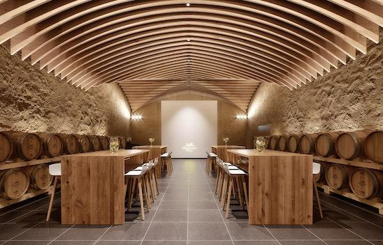 Gewinner in der Kategorie Interior Design: Vinotorium der Oberkircher Winzer EG, ECHOMAR, Müller + Huber Architekten, © Jigal Fichtner