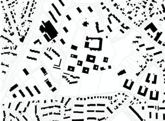 1. Preis Zuschlag: Schwarzplan, © AllesWirdGut Architektur ZT GmbH