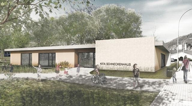 """Neubau der Kindertagesstätte """"Schneckenhaus"""" sowie Erweiterung und Sanierung der Kindertagesstätte St. Josef in Merzig"""