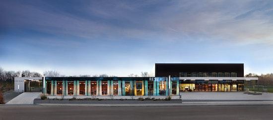 Preis: ParkArena, CODE UNIQUE Architekten, GESA Ingenieurgesellschaft für technische Gesamtplanung mbH, Gemeinde Neukieritzsch, © Robert Gommlich
