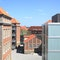 Blick in den neuen Campus