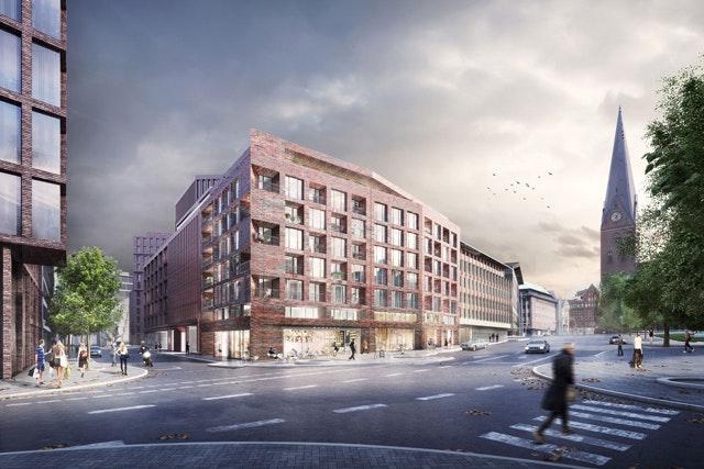 Stadtbaustein Domstraße in Hamburg
