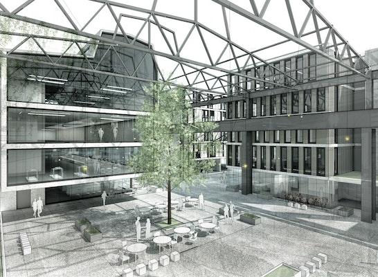 Perspektive - Quartierplatz