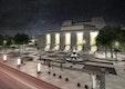 Nachtansicht Großer Offenbachplatz