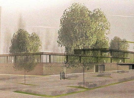 1. Preis Zur Realisierung empfohlen Zuschlag: Neubau Feuerwehrtechnisches Zentrum - Perspektive dasch zürn architekten, © dasch zürn architekten