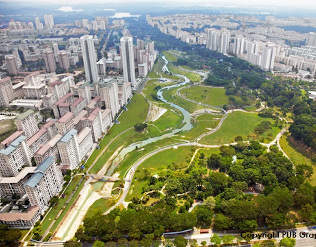 Aerial Bishan Park by PUB Graphic AD