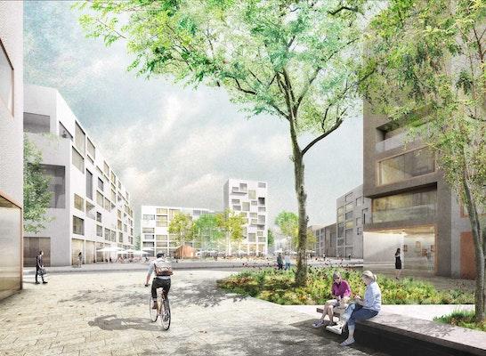 2 Preis Stadterweiterung München Freiham Nord 2 Competitionline