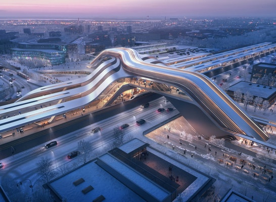 1. Preis: © Zaha Hadid Architects mit Esplan | negativ.com