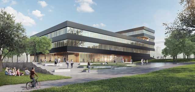 Neubau Forschungsgebäude Zentrum Biophysik der UdS in Saarbrücken