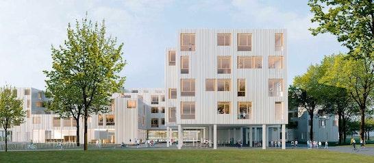 1. Preis Zuschlag: Visualisierung, © PPAG architects ztgmbh / EGKK Landschaftsarchitektur