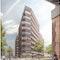 Perspektive Wettbewerb Fassadengestaltung am Anckelmannsplatz Hamburg