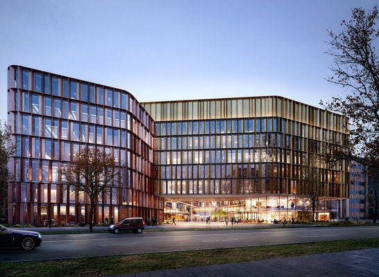 HENN setzt das Technologie-Zentrum auf dem Gelände der Firmenzentrale von Giesecke+Devrient um (Quelle G+D)