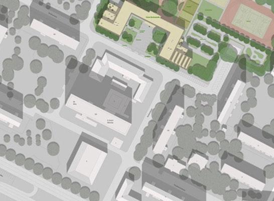 Lageplan: Behles & Jochimsen Architekten