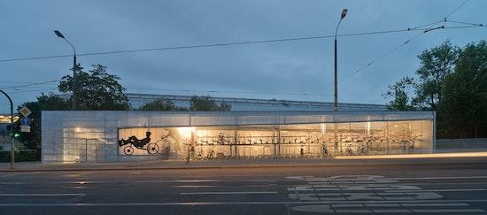 Preis: **Radhaus am ICE-Bahnhof, Osterwold°Schmidt EXP!ANDER Architekten BDA, Landeshauptstadt Erfurt, © Michael Miltzow, Bildwerk Weimar