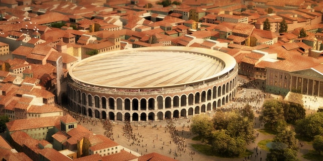 """International contest of ideas for roofing the Roman Amphitheater """"Verona Arena"""""""