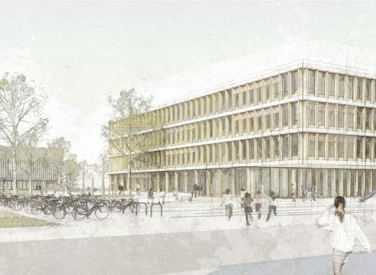 1. Preis Zuschlag: Perspektive, © h4a Architekten