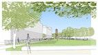 Bertha-von-Suttner-Park;   Grafik: Christiane Diehl Landschaftsarchitektur