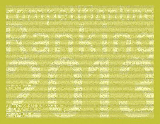 1. Preis Wettbewerbsranking Architekten