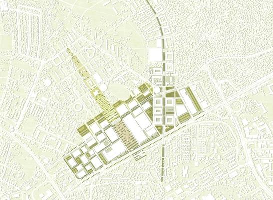 Lageplan M1:2500